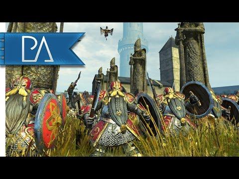 Bretonnian Keystone Plaza Siege: Dwarfs...