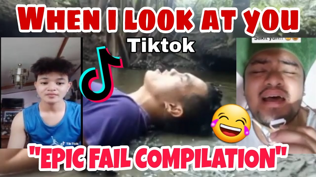 WHEN I LOOK AT YOU | LAUGHTRIP | PIYOK EDITION | TIKTOK COMPILATION
