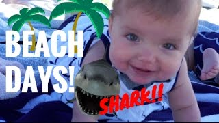 BEACH DAYS x2 w/ COLE & SAV CHANTELLE & EVERLEIGH VLOG