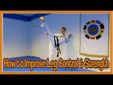 Taekwondo Kicking Drills | Kicking Control and Leg Strength | GNT Tutorial