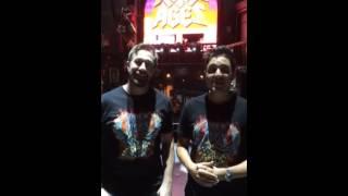 "Noel and Dan Introduce Team ""Rock Trek"""