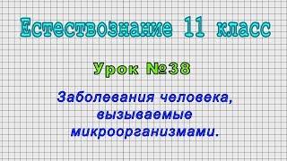 Естествознание 11 класс (Урок№38 - Заболевания человека, вызываемые микроорганизмами.)