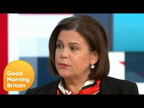 Sinn Féin's Leader on Why Brexit Threatens the Peace Process in Ireland | Good Morning Britain