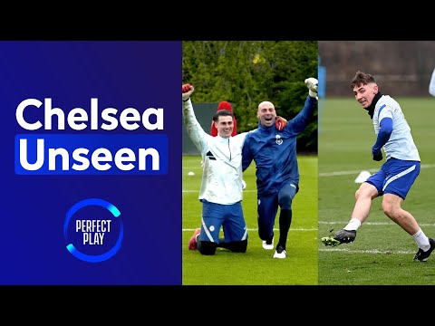Billy Gilmour dances after DOUBLE nutmeg 😭 Goalkeeping heroics in reactions drill!   Chelsea Unseen