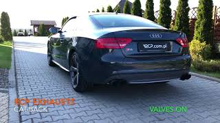 Audi S5 4.2 V8 | RCP Exhausts | Valved Cat-Back Exhaust