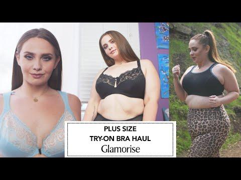 UPDATED Plus Size Bra Haul - Glamorise Bras | Hayley Herms #ad