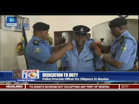 Diligent Bayelsa Traffic Warden Promoted To The Rank Of An Inspector