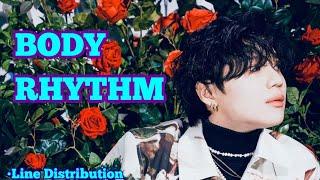 SHINee - BODY RHYTHM (Line Distribution)
