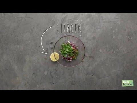 Saladebakjes uit een muffinvorm - Allerhande