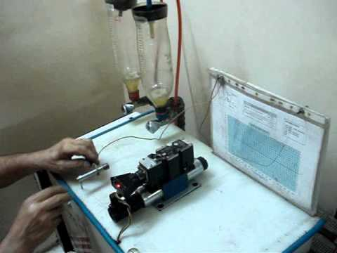 Hydraulic Proportional Valve Test Bench YouTube