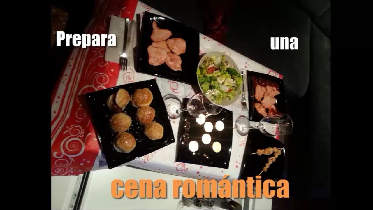 Men cena rom ntica opciones para cena r pida cena - Ideas romanticas para hacer en casa ...