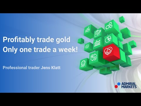 How To Profitably Trade Gold With Only One Trade A Week!  Trading Spotlight