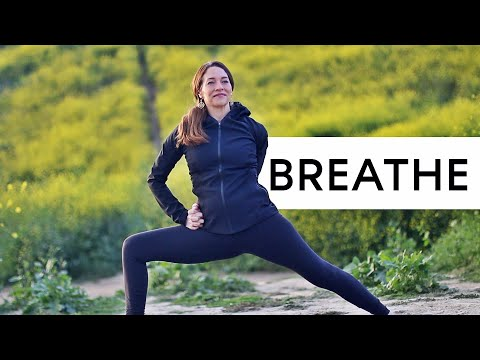 Yoga For Stress (Take a moment to breathe and relax)