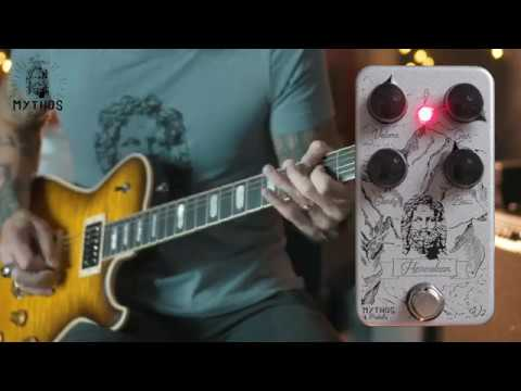 Mythos Pedals Herculean v2 overdrive - demo by RJ Ronquillo