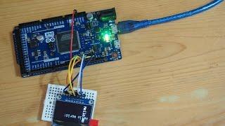hello world 1 3 inch iic spi 128x64 oled x arduino using u8glib library