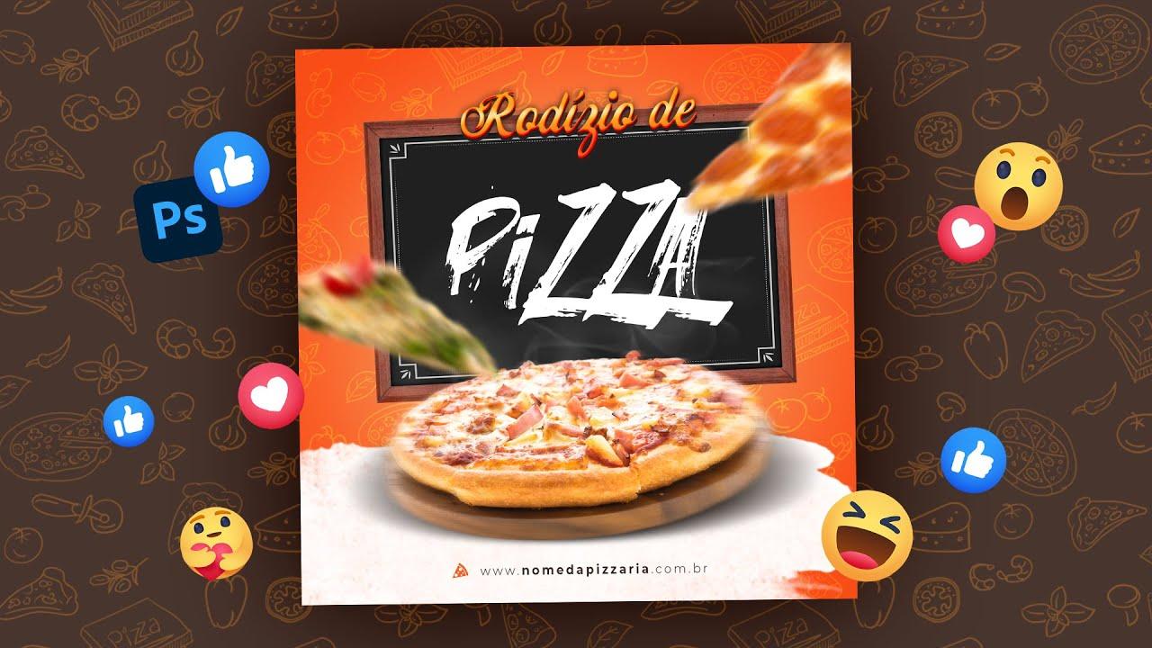 Design Social Media para Pizzaria no Photoshop