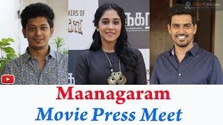 Maanagaram Movie Press Meet | SundeepKishan | ReginaCassandra 2DAYCINEMA.COM