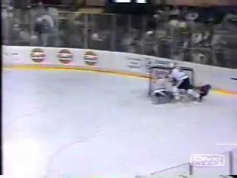 Clint Malarchuk Injury Not For The Faint Hearted Youtube