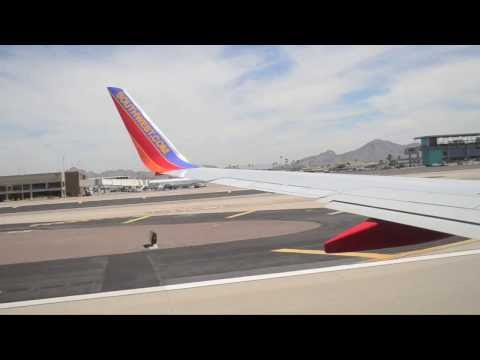 Take Off From Phoenix SkyHarbor International Airport - Southwest Airlines Flight 350