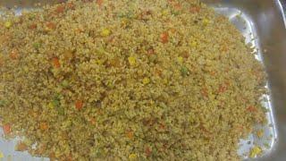 Bulgur pilavı tarifi sebzeli