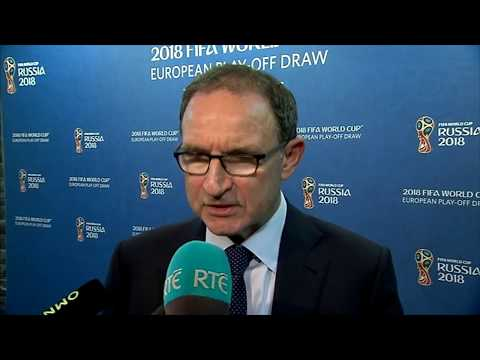 FIFA World Cup 2018 - UEFA Play-off Draw - post-draw interview - Martin O'Neill (17/10/17)