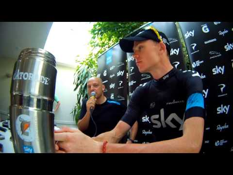 CHRIS FROOME DISAPPOINTED WITH JOURNALIST AFTER MONT VENTOUX STAGE AT TOUR DE FRANCE