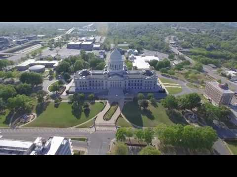 Around The City Of Little Rock, Ar With Dji Phantom 3 Advanced