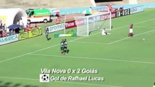 Gol de Rafhael Lucas no primeiro jogo do ano entre Goiás x Vila Nova