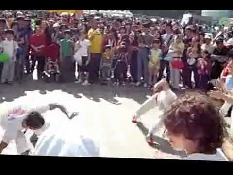 Brazilian Capoeira at the South Korean World Food Festival