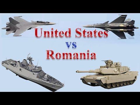 United States vs Romania Military Power 2017