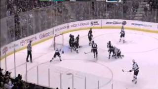 San Jose Sharks Comeback vs. L.A. Kings Game 3 4/19/2011