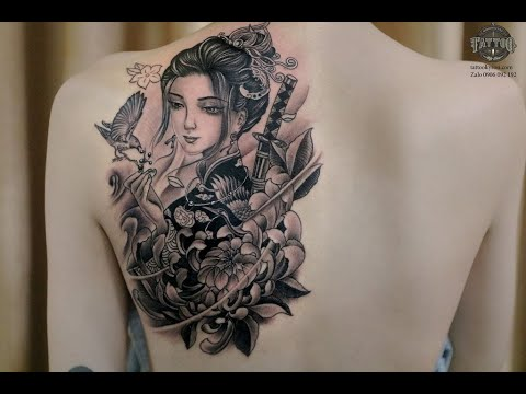 Hình xăm cô gái nhật đẹp nhất,tại Tattoo Kỳ Sơn | Tổng quát các nội dung liên quan xăm hình cô gái nhật đầy đủ nhất