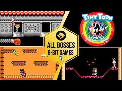 Tiny Toon Adventures – All Bosses / Тини Тун каникулы – Все Боссы   Dendy 8-bit / NES