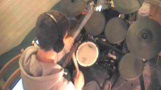 Gangnam Style METAL COVER (drums) - Theo Saenger