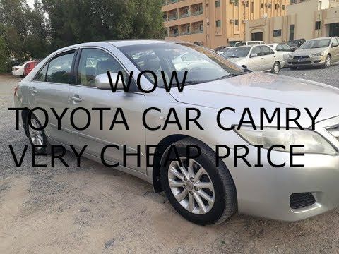 Buy Cheap Used Cars in UAE.TOYOTA CAMRY 2010 Only 13,400