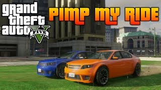 GTA V - Pimp My Ride #93 | Cheval Fugitive (Holden Commodore) | Car Customization Competition!