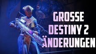 Destiny 2 : Komplette Strike und Raid Überarbeitung | Es geht Berg auf