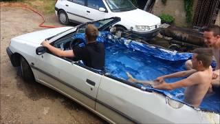 voiture piscine - Famille BONNARDOT
