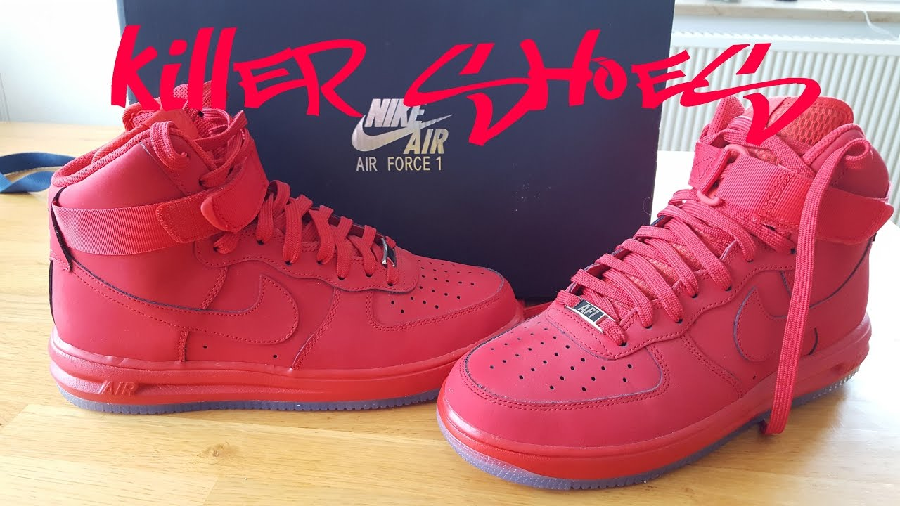 san francisco 02385 9b146 ... Nike Lunar Force One HI 14 University Red Deadstock 1 Sneaker Review +  On feet by . ...