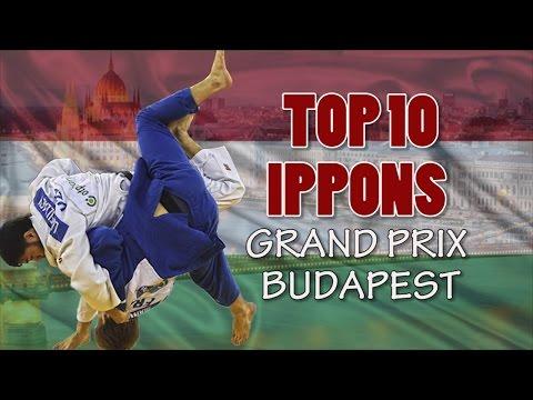 TOP 10 IPPONS   Grand Prix Budapest 2016   柔道