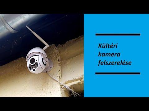 Kültéri kamera felszerelése