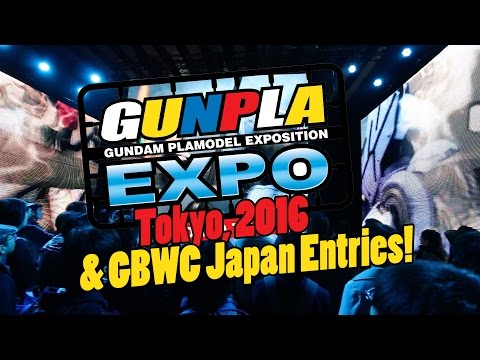 883 - Gunpla Expo Winter 2016 & GBWC Japan Entries (The Comp