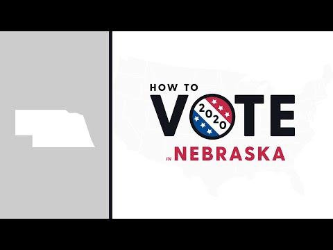 How To Vote In Nebraska 2020