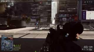 battlefield 4 beta PC gameplay with 3d sound