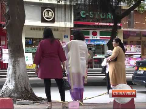 Indian family find happiness in China