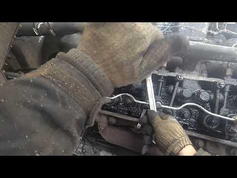 Как отрегулировать клапана на двигателе ямз 238