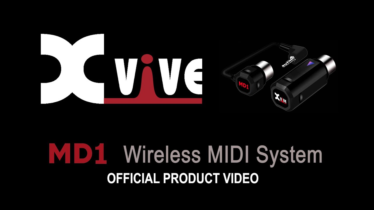 Download MD1 Wireless MIDI System - Official XVIVE Video