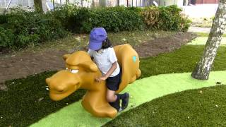 Camel Spring Mobile - Outdoor Playground Equipment