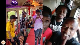 Safari ya Kigoma ya Diamond, Tanasha na mastaa wengine, ni bata, muziki na viuno