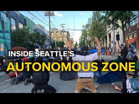 Inside Seattle's 'Autonomous Zone'. No police allowed.
